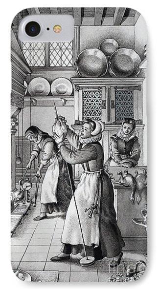 16th Century Kitchen IPhone Case