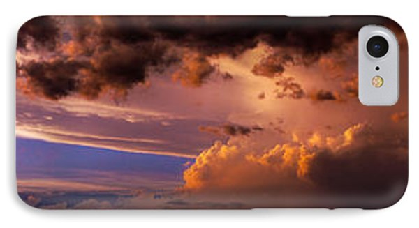 Nebraskasc iPhone 8 Case - Nebraska Hp Supercell Sunset by NebraskaSC
