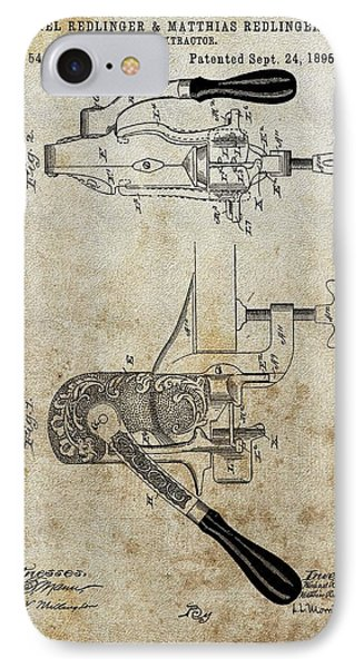 1895 Cork Extractor Patent IPhone Case