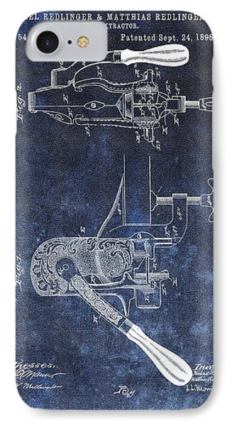 1895 Corkscrew Patent IPhone Case