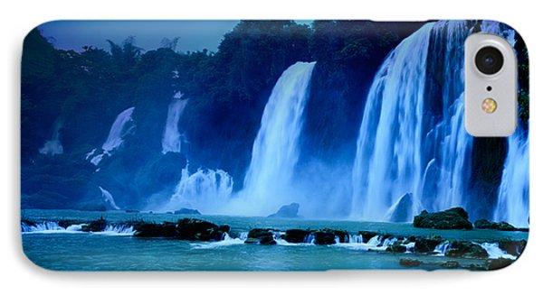 Beautiful iPhone 8 Case - Waterfall by MotHaiBaPhoto Prints