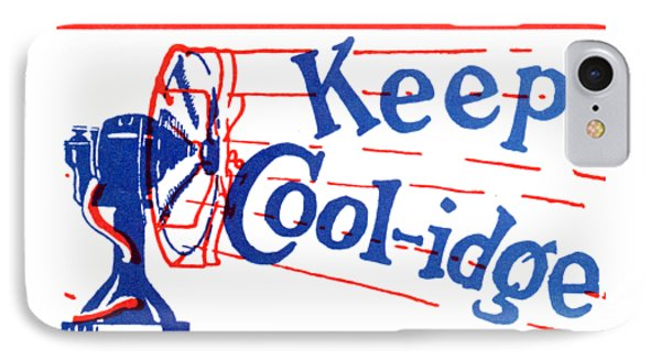 1924  Keep Coolidge Poster IPhone Case