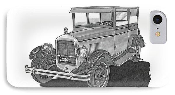 1925 Jewett 2 Door Touring Sedan IPhone Case