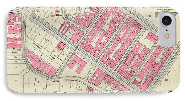 1930 Inwood Map  IPhone Case