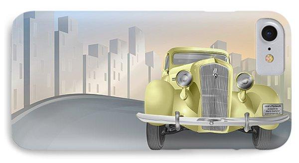 1930's Plymouth Sedan IPhone Case