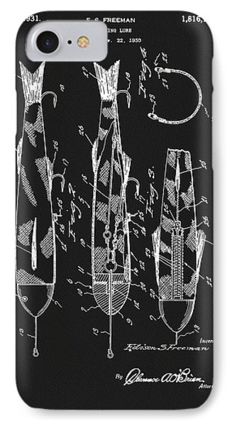 1931 Fishing Lure Patent IPhone Case
