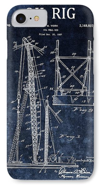 1939 Oil Rig Design IPhone Case