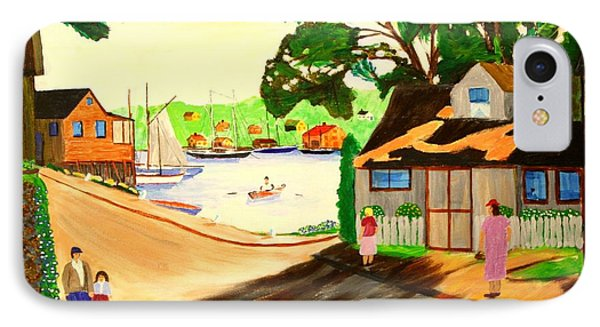1940s Smith Cove From Rocky Neck Gloucester Ma IPhone Case