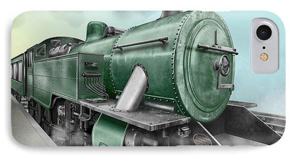 1940's Steam Train IPhone Case