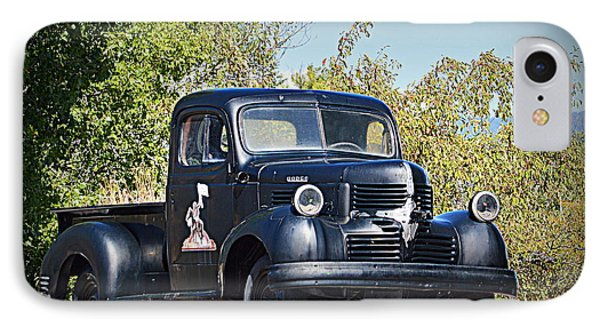 IPhone Case featuring the photograph 1941 Dodge Truck by AJ Schibig