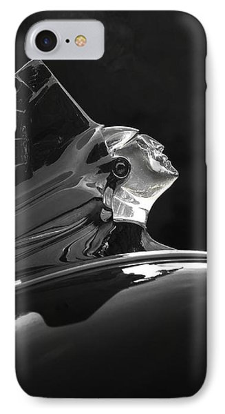 1952 Pontiac Catalina Chieftan Lighted Hood Ornament 3 IPhone Case