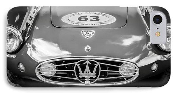1954 Maserati A6 Gcs -0255bw IPhone Case