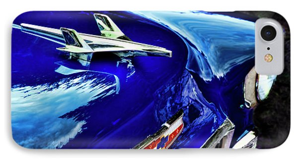 1955 Chevy Bel Air Hard Top - Blue IPhone Case