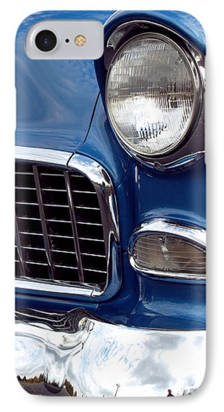 Car iPhone 8 Case - 1955 Chevy Front End by Anna Lisa Yoder