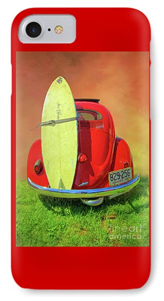 1957 Beetle Oval IPhone Case