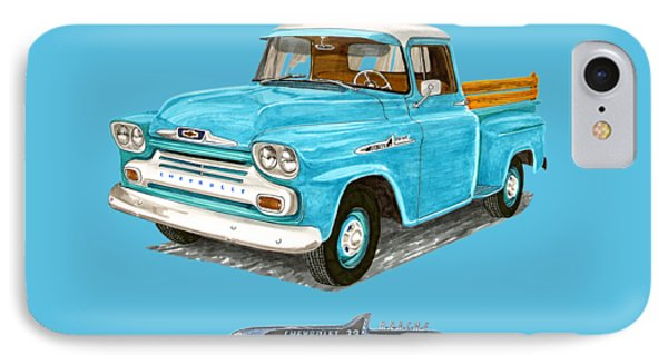1958 Apache Pick Up Truck IPhone Case