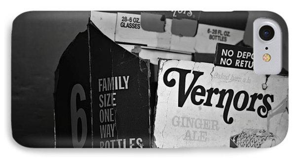 1960's Vernors Box. No Deposit, No Rerurn  IPhone Case