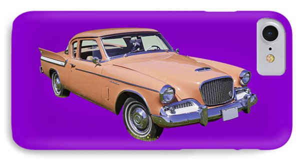 1961 Studebaker Hawk Coupe IPhone Case