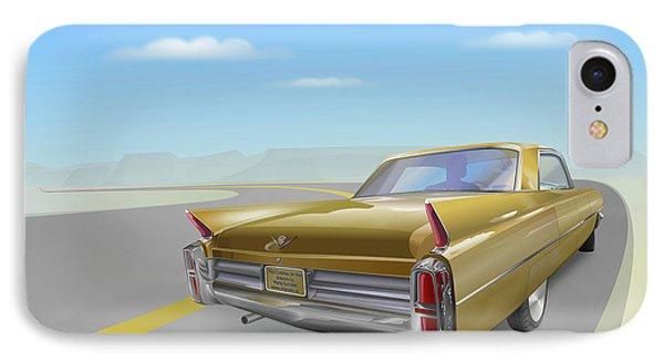 1963 Cadillac De Ville IPhone Case