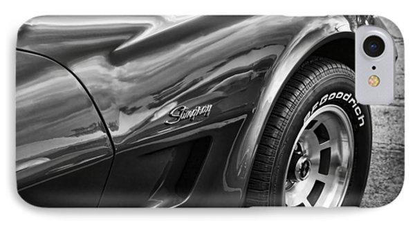 1973 Chevrolet Corvette Stingray IPhone Case