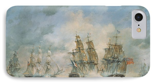 19th Century Naval Engagement In Home Waters IPhone Case