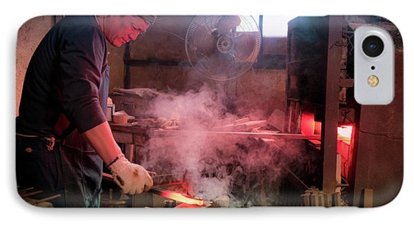 4th Generation Blacksmith, Miki City Japan IPhone Case