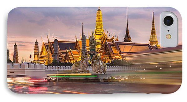 Bangkok Wat Phra Keaw IPhone Case