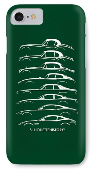 Big Cat Coupe Silhouettehistory IPhone Case
