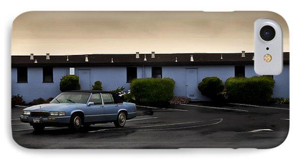 Blue Motel IPhone Case