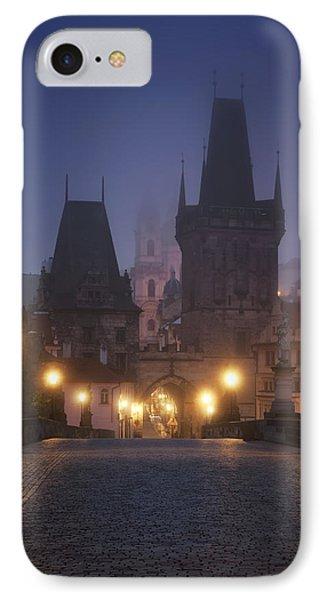 Charles Bridge, Prague, Czech Republic IPhone Case