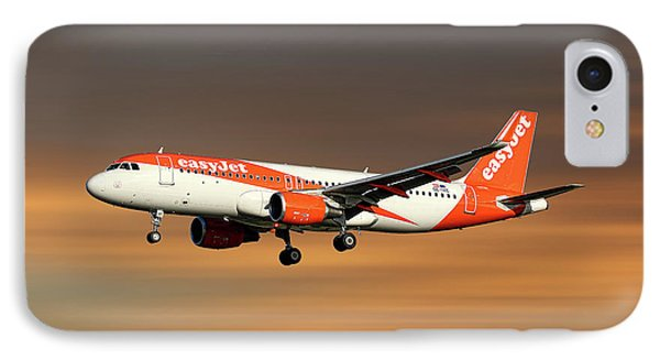 Jet iPhone 8 Case - Easyjet Airbus A320-214 by Smart Aviation