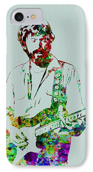 Musicians iPhone 8 Case - Eric Clapton by Naxart Studio