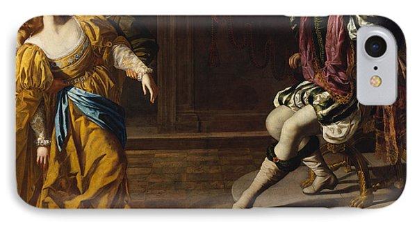 Esther Before Ahasuerus IPhone Case