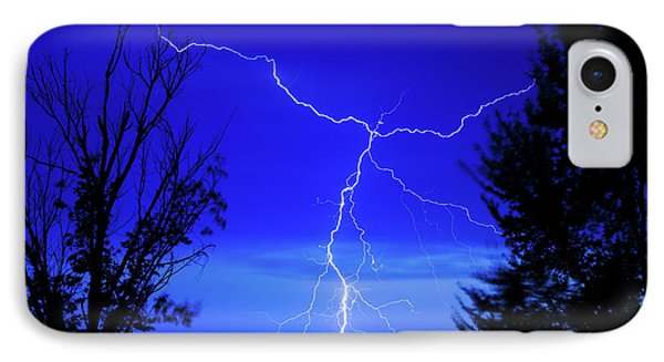 Forked Lightning IPhone Case