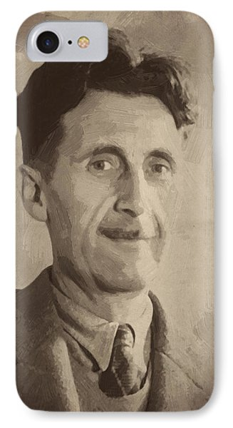 George Orwell 2 IPhone Case