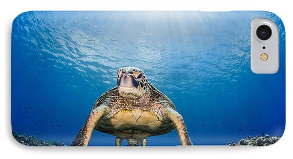 Hawaiian Turtle IPhone Case