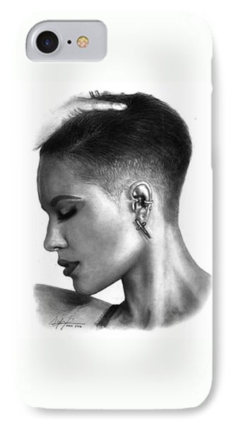 Halsey Drawing By Sofia Furniel IPhone Case