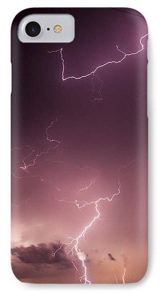 Nebraskasc iPhone 8 Case - Late July Storm Chasing 057 by NebraskaSC