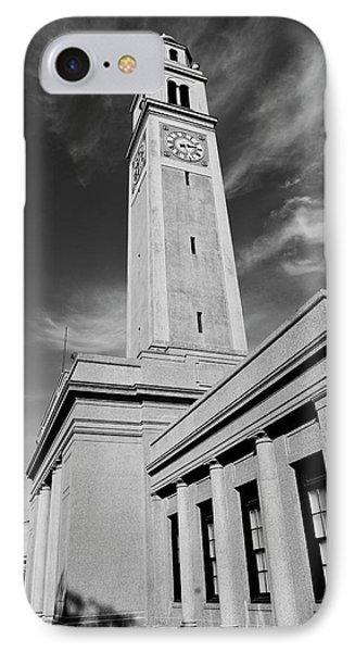 Memorial Tower - Lsu Bw IPhone Case