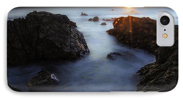 Moss Beach Sunset IPhone Case