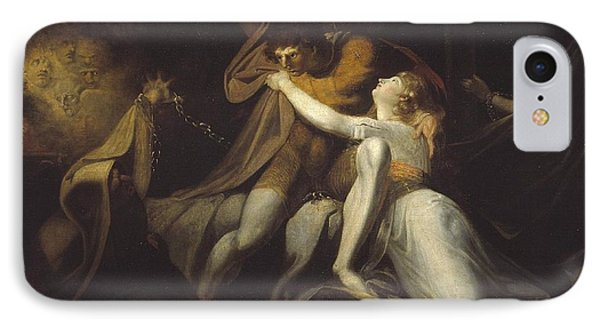 Percival Delivering Belisane From The Enchantment Of Urma IPhone Case