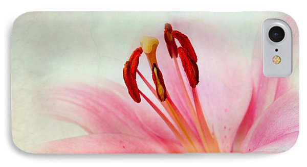 Lily iPhone 8 Case - Pink Lily by Nailia Schwarz