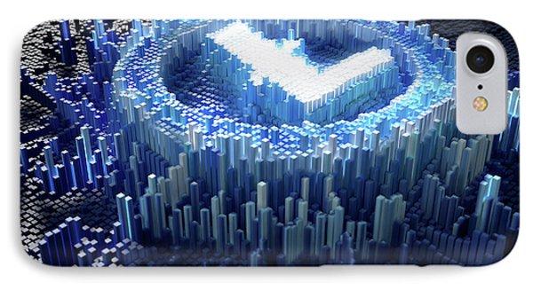 Pixel Litecoin Concept IPhone Case