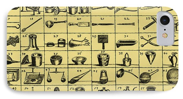 Portable Laboratory Of Johann Joachim IPhone Case