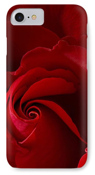 Red Rose Iv IPhone Case
