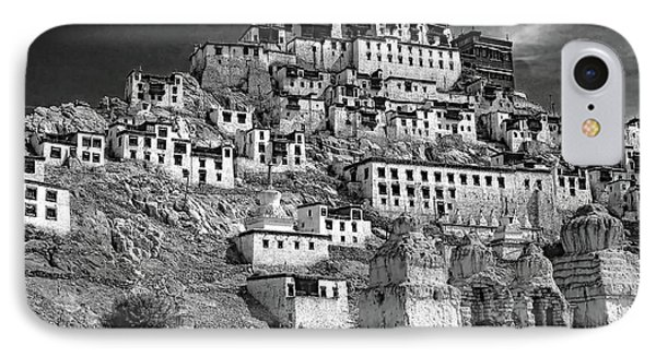 Thiksey Monastery IPhone Case