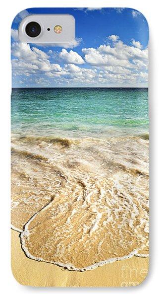 Beach iPhone 8 Case - Tropical Beach  by Elena Elisseeva