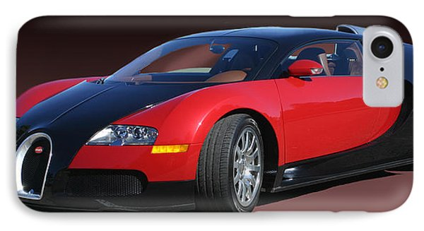 2010 Bugatti Veyron E. B. Sixteen IPhone Case