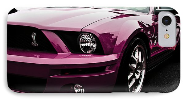 2010 Pink Ford Cobra Mustang Gt 500 IPhone Case
