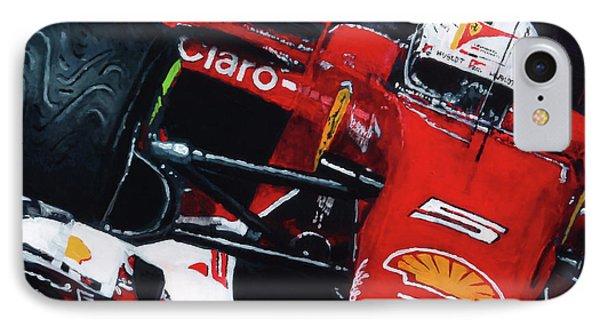 2015 F1 Ferrari Sf15-t Vettel IPhone Case